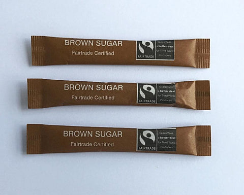 Fairtrade Sugar Stick - Brown
