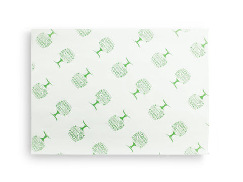 Green Tree Compostable Greaseproof Sheet - 35cm x 22.5cm