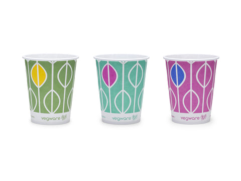 Hula Slim Paper Cold Drinks Cups - 9oz