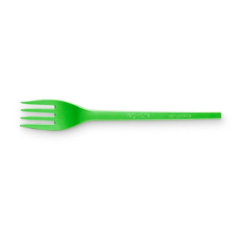 Vegware Green Compostable CPLA Fork