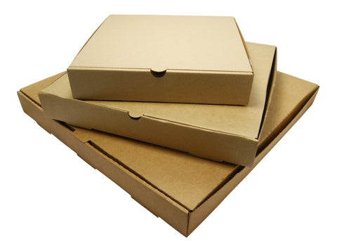 Kraft Brown Pizza Box - 9inch, 12inch & 16inch