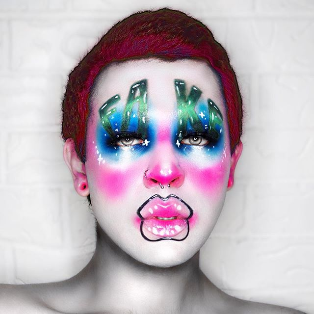 Vareons' Avant Garde, Digital Superstar Makeup Looks