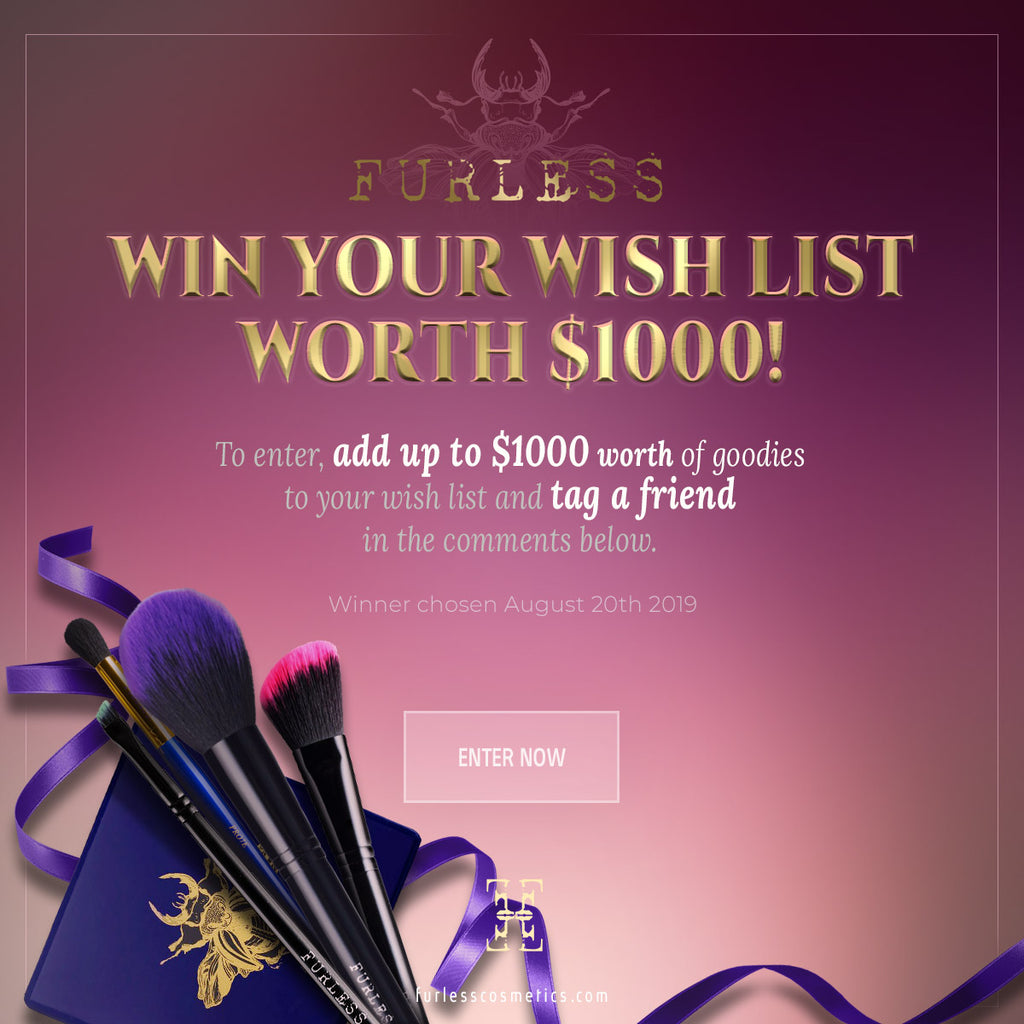 WIN your wish list worth $1000!
