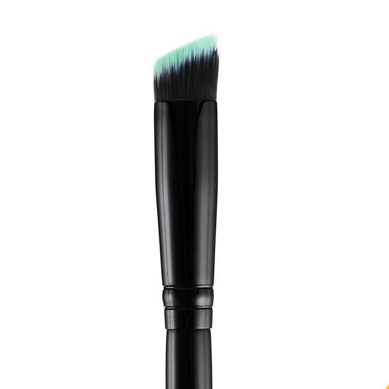 BRUSHES - BLACK BEAUTY ANGLED EYE KABUKI BRUSH