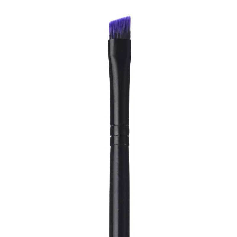 BRUSHES - PURPLE ANGLED LINER BRUSH