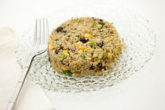 Quinoa with black bean