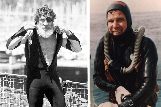 History of the neoprene wetsuit