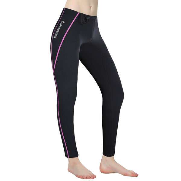 Lemorecn-women's-black-purple-1.5mm-wetsuit-pants