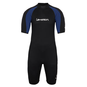 Lemorecn-mens-black-blue-3mm-wetsuit-sun-protection