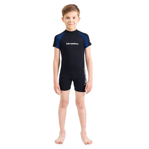 lemorecn-kids-2mm-neoprene-wetsuit-shorty-swim-suit