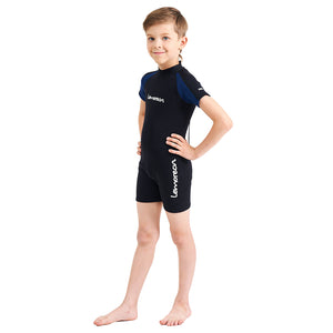 lemorecn-young-black-blue-neoprene-premium-wetsuit-swimsuit