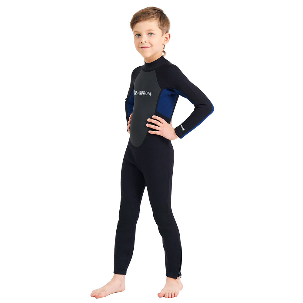 342c8304bc2 Lemorecn Kids Wetsuits Youth 3/2 mm Full Diving Suit For Swimming Surf