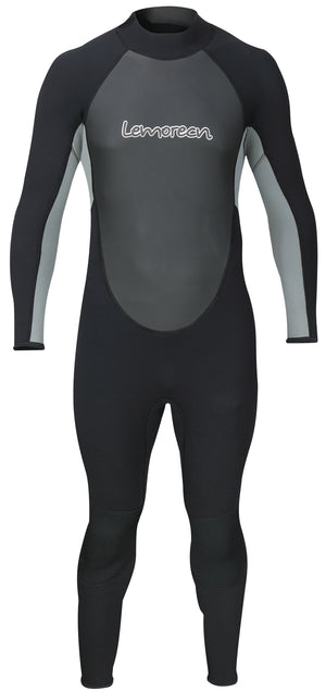Lemorecn Mens Wetsuits Jumpsuit Neoprene 3/2mm Full Body Diving Suit