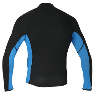 Lemorecn-men's-2mm-long-sleeve-wetsuit-top-front-zip
