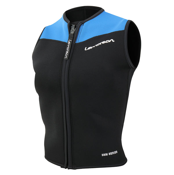 Lemorecn-men's-3mm-black-blue-wetsuit-vest