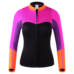 Lemorecn-women's-2mm-long-sleeve-wetsuit-jacket