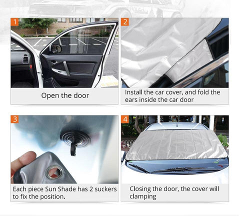 How to Use Car Windshield Cover