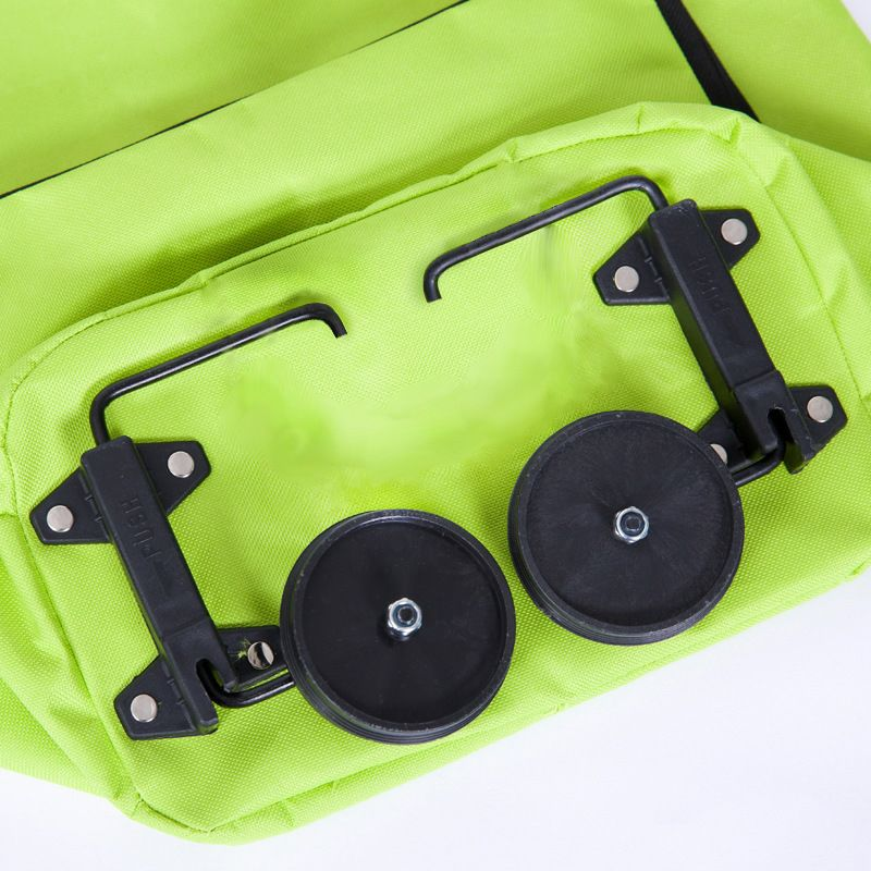 Foldable Eco Friendly Shopping Bag With Wheels