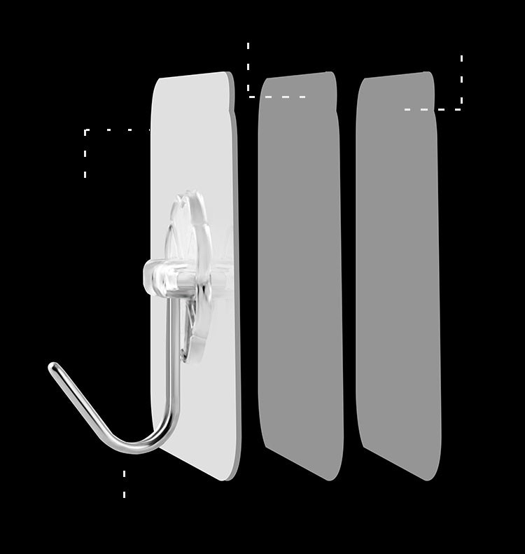 Seamless Adhesive Hook (10PCS)
