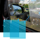 Car Rearview Mirror Film 2pcs