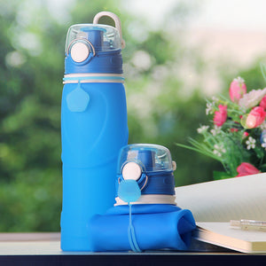 Premium Collapsible Silicone Water Bottle