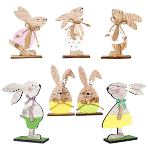 Wooden Easter Rabbit