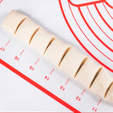 Silicone Baking Mat with Measurements