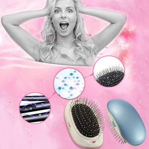 Portable Ionic Breeze Hair Brush