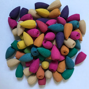 70PCS Backflow INCENSE CONES