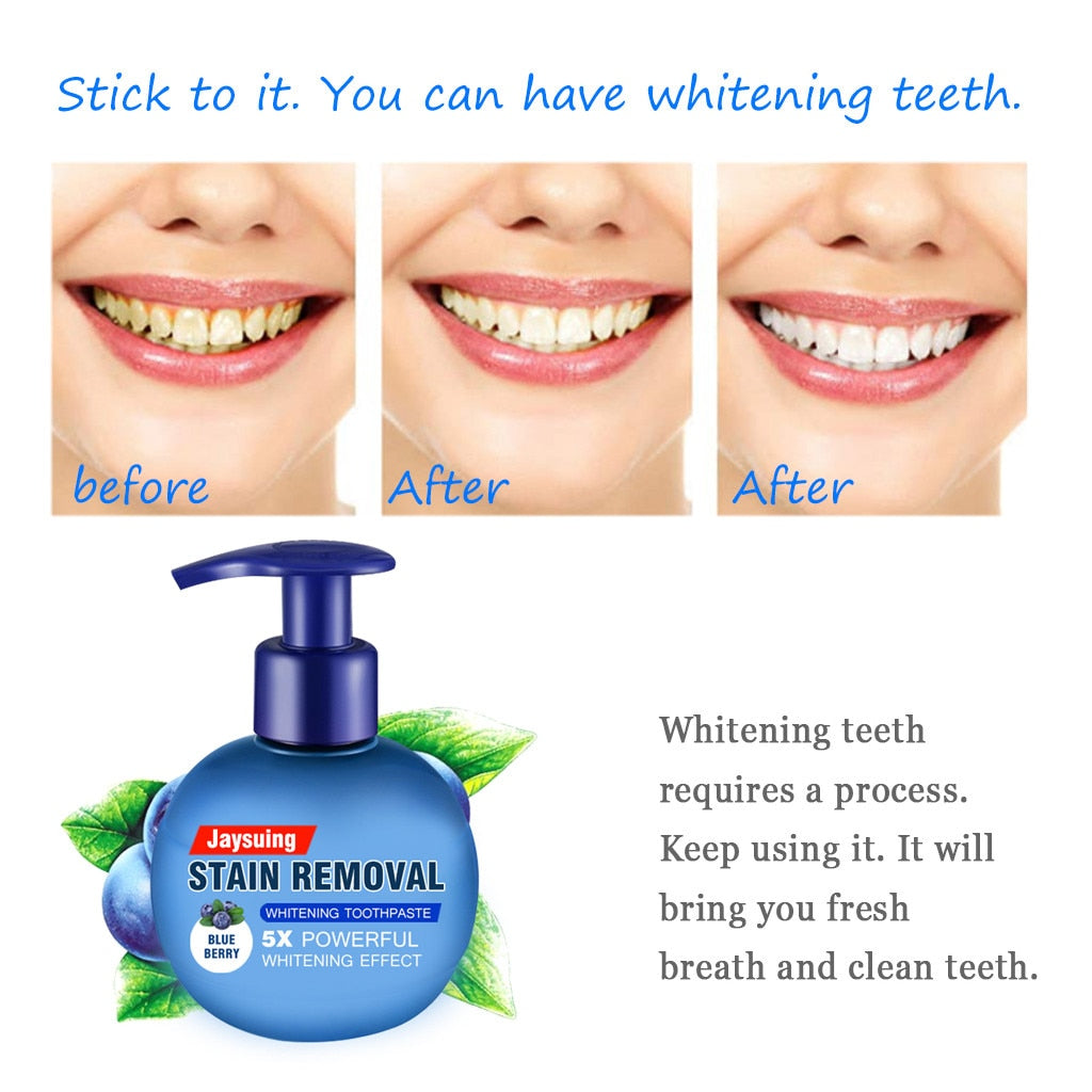 Intensive Stain Removal Whitening Toothpaste Commonlee Store