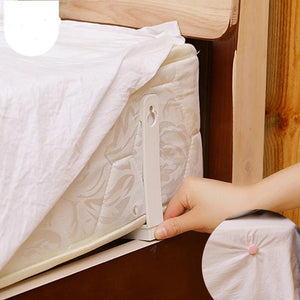 Bed Sheet Grippers Clip Set (4Pcs)