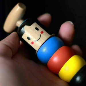 Unbreakable Wooden Man Toy