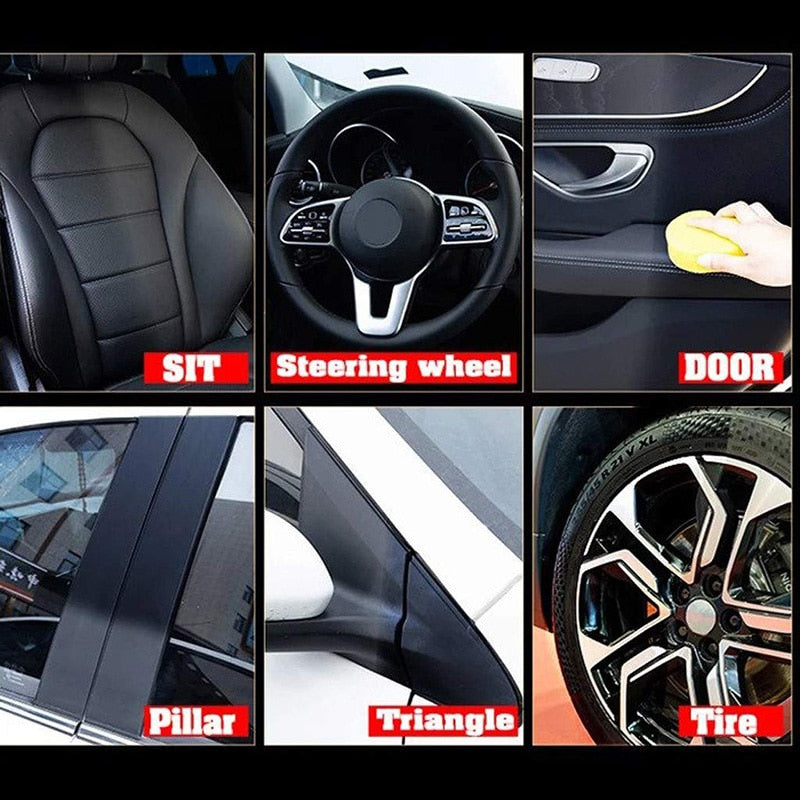 Auto Leather Renovated Coating Paste Maintenance Agent