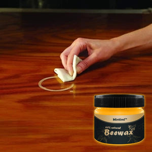 Wood Seasoning Beeswax 100% Organic