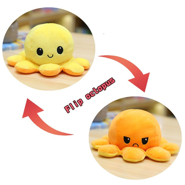 Big Reversible Octopus Plush Toy