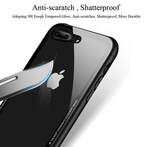 Tempered Glass iPhone Case