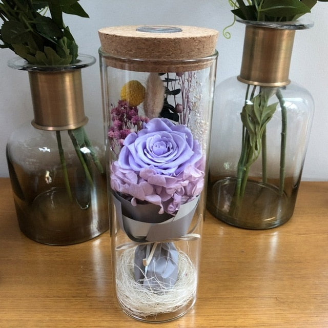 Rose Lamp with Remote Control