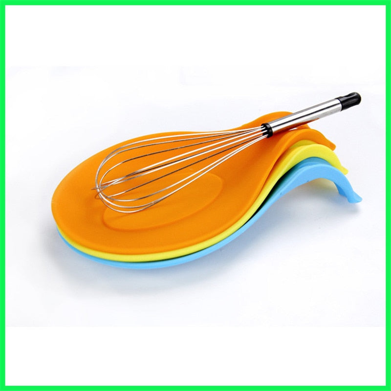 Silicone Kitchen Spoon Rest Holder