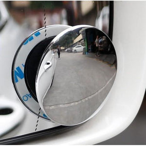 Frameless Round Blind Spot Mirror