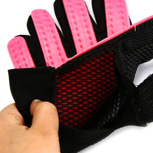 Pet Grooming Glove for Cats, Dogs & Horses