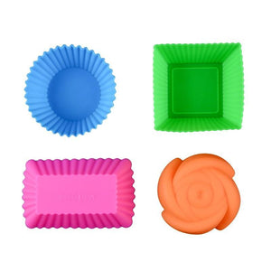 Silicone Cake Baking Molds (6 pcs)