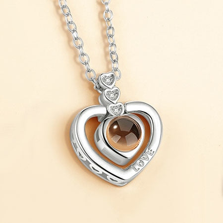 I LOVE YOU Pendant Necklace