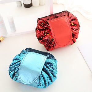 Bling Drawstring Cosmetic Bag