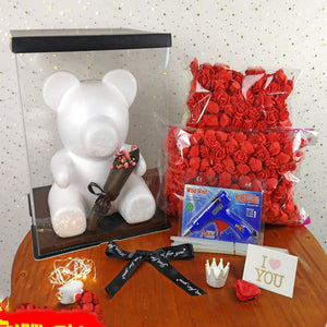 DIY Rose Bear Accessories