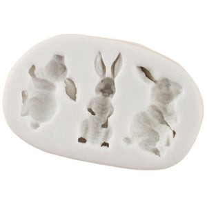 3D Silicone Rabbit Mold
