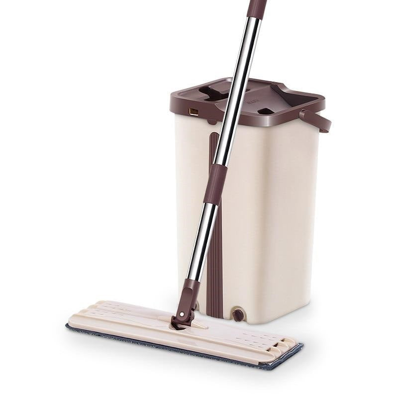 Self-Wringing Mop Bucket