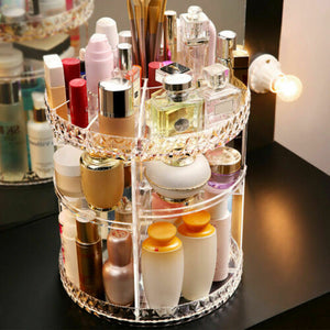 Crystal Cosmetic Storage Box