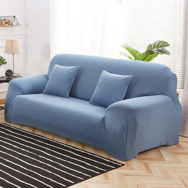 Magic Sofa Cover (Solid Color)