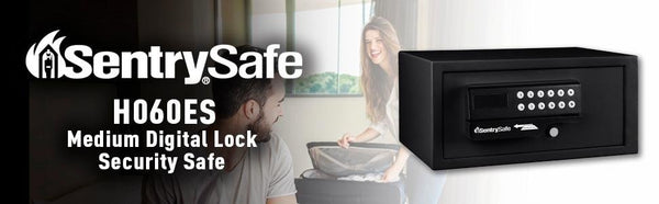 SentrySafe Small Personal Portable Security Safe with Digital Lock - 0.4 Cubic Feet