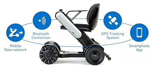 WHILL Model Ci Personal EV Smart Electric Vehicle - Power Mobility Chairs